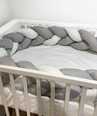 Baby Oliver Πάντα Πλεξούδα Design46-6713/10 jersey  100% βαμβάκι 18X200white