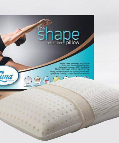 Μαξιλάρι Ύπνου Ανατομικό The Shape Retention 12εκ